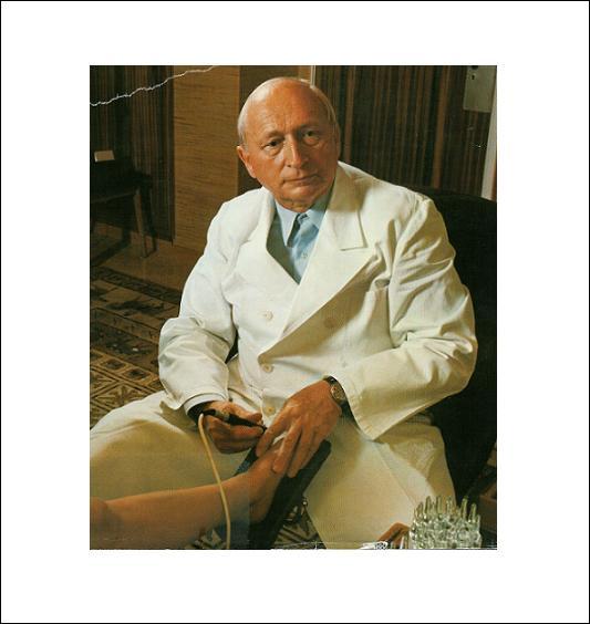 Dr. Reinhold Voll e a Acupunctura - História e Cronologia