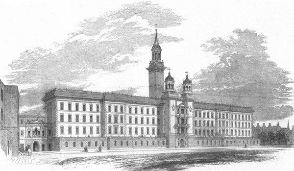 Primeiro Departamento de Terapia Elétrica em Hospital - História e Cronologia